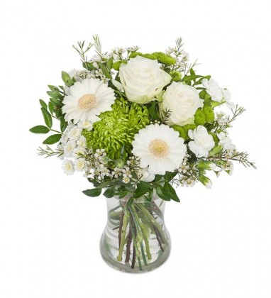 Beyaz çiçek rüyası