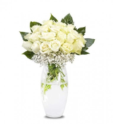 20 Beyaz Güller