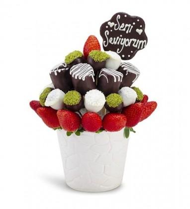 Seni Seviyorum Meyve Sepeti