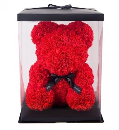 Ayıcık Teddy Rose Solmayan Gül  40cm